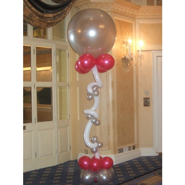 Party balloons essex helium balloons at parties essex london for Balloon decoration courses in london